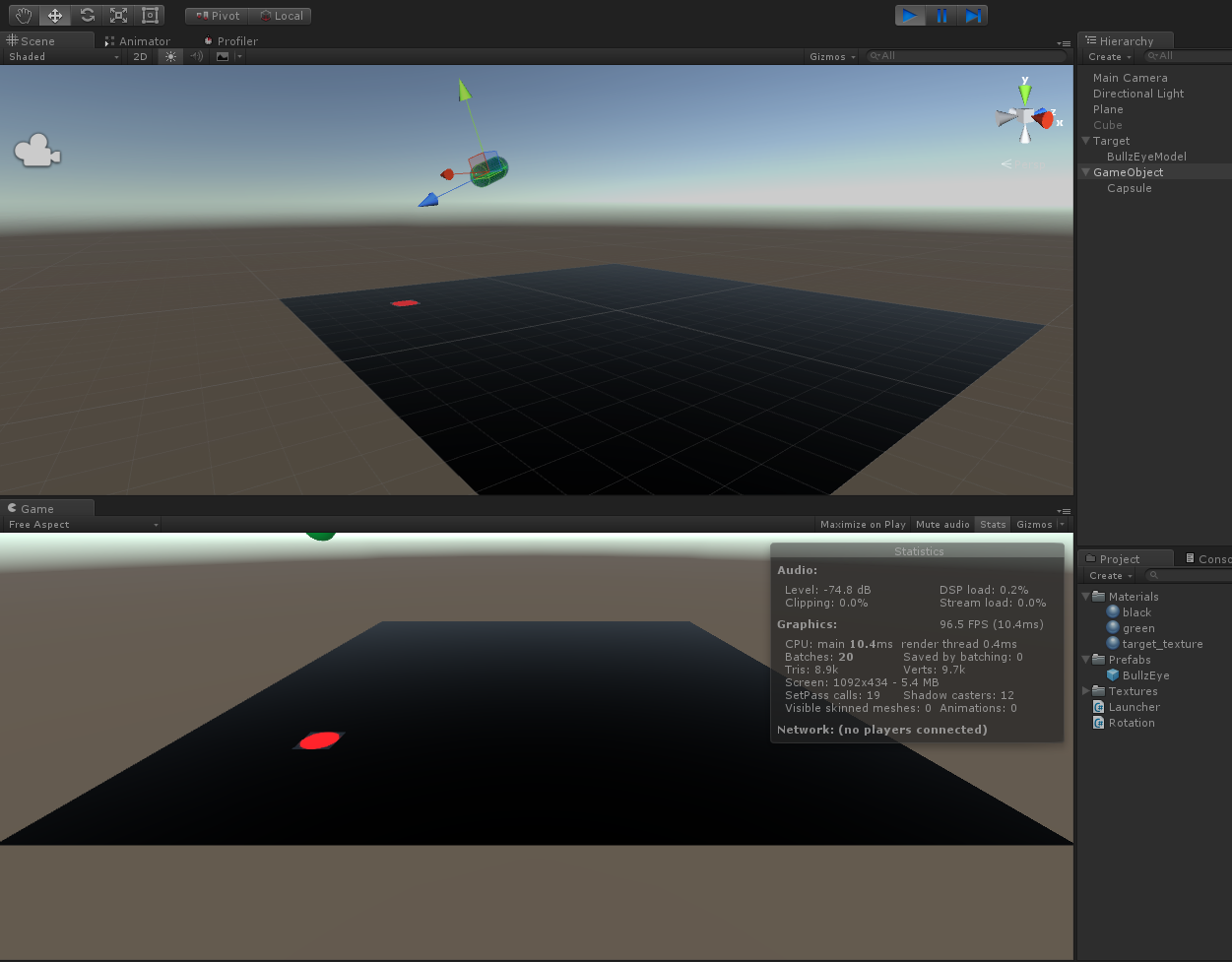 Simple trajectory motion example in Unity3D – Volkan Ilbeyli